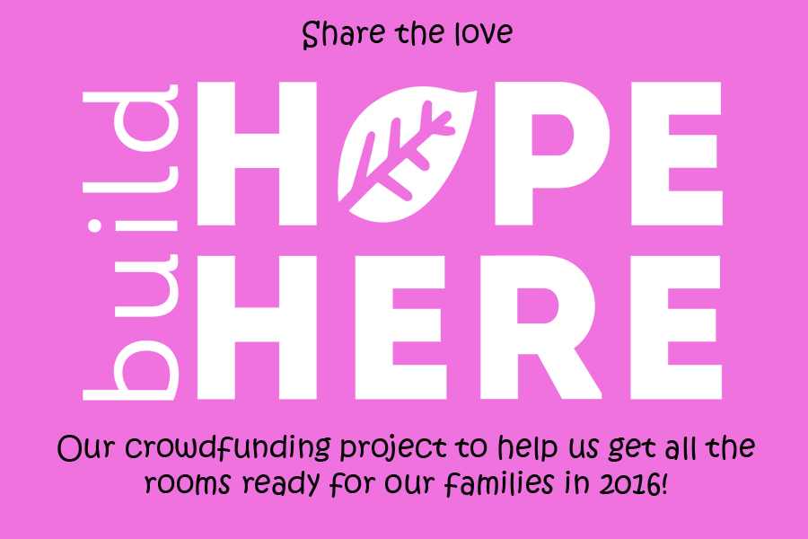 Build Hope Here- Pink