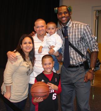 Jose Meets Lebron James - New Hope for Kids 147d2a3c5eef