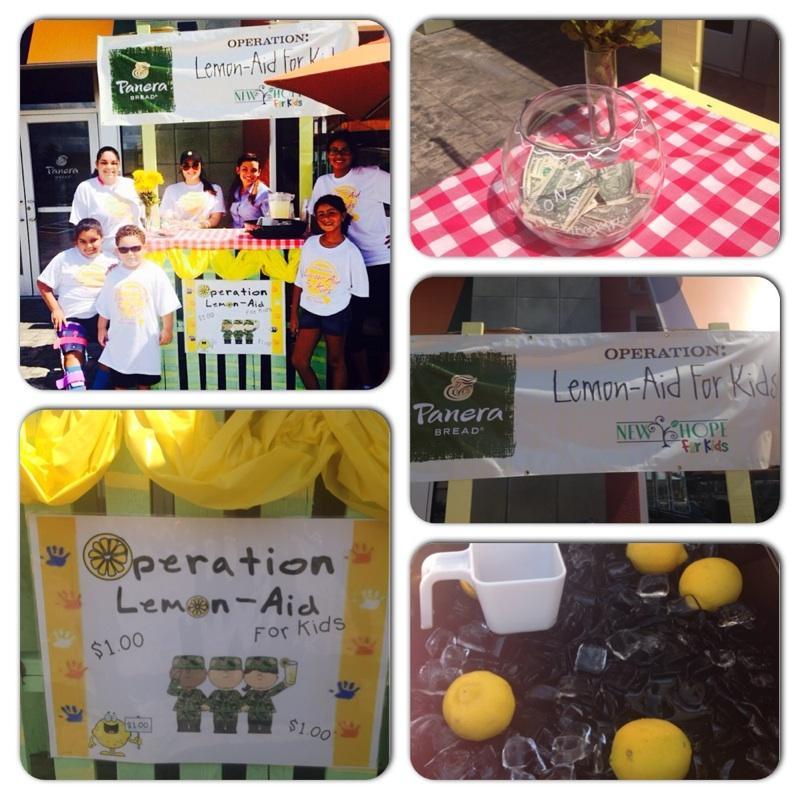 Panera Lemon-Aid Stand Lee Vista 7-18-14