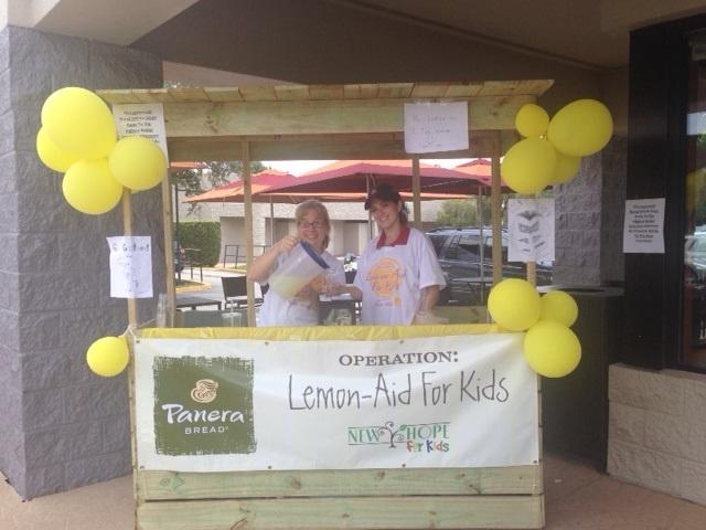 Panera Lemon-Aid Stand Red Bug Lake Rd 7-19-14